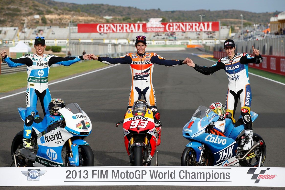 champion moto gp 2013