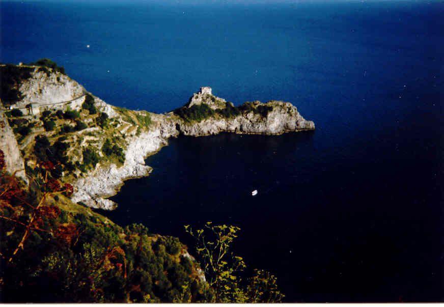 Vista da Furore del capo di Conca dei Marini (1996)