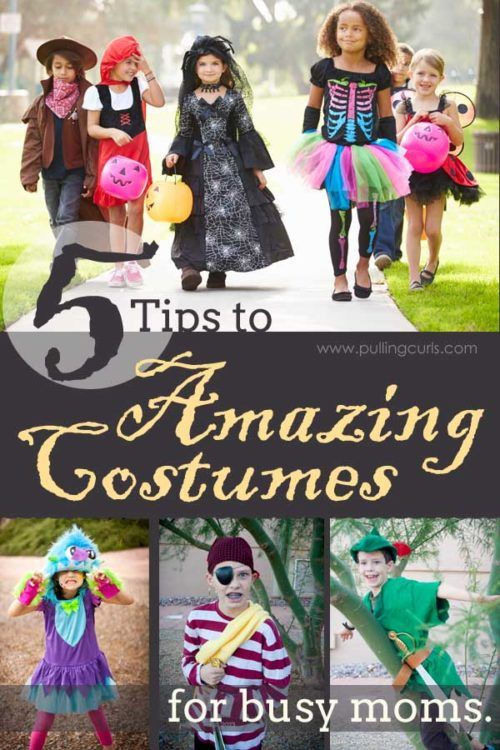 Amazing Halloween costumes donu0027t have to take a lot of time or a lot  sc 1 st  Pinterest & Easy Costume Ideas for Busy Moms | Amazing halloween costumes Cheap ...