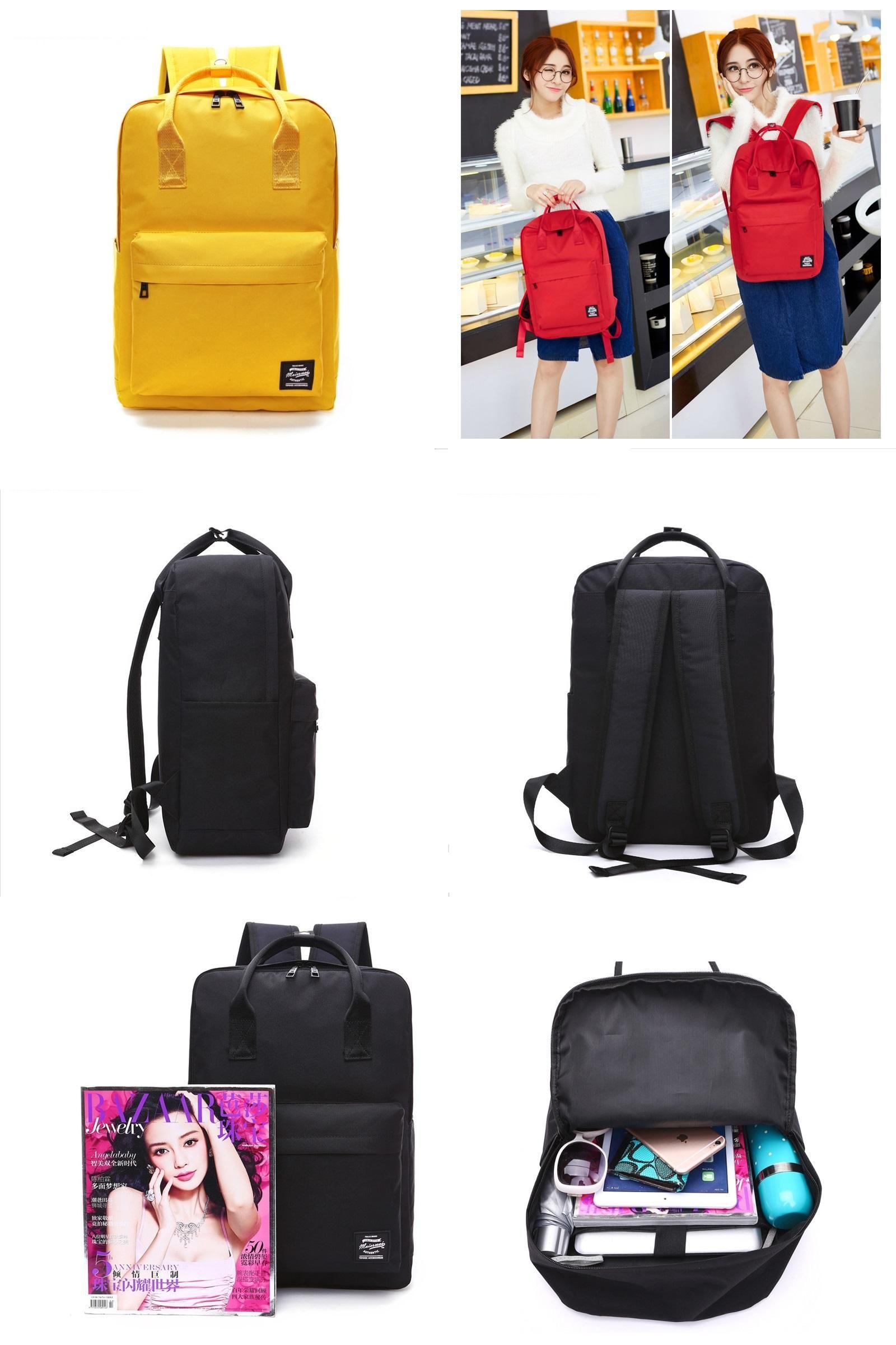 6ba3a9eae3 Visit to Buy] MAN ER WEI Large Capacity Backpack Women Preppy School ...