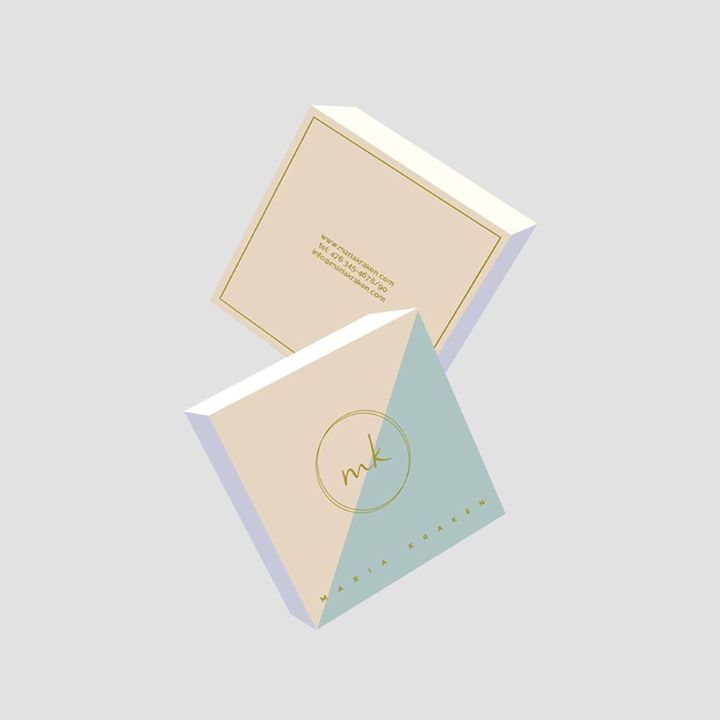 Pre-made Business Card Pastel Constrast http://ift.tt/1IiD3kI #design