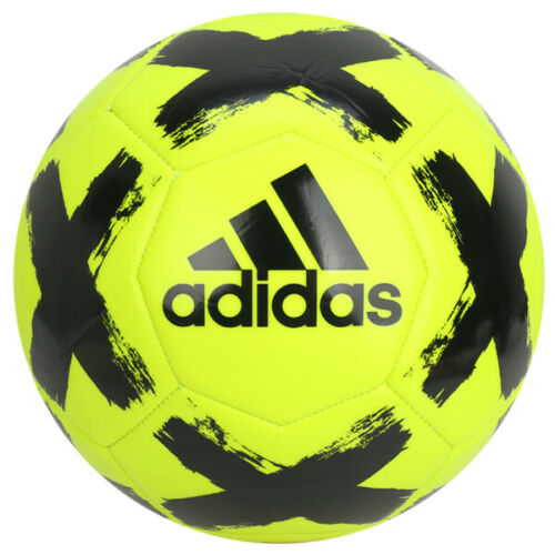 Details About Adidas Starlancer Club Soccer Football Ball Neon Yellow Fl7034 Size 4 Size 5 In 2020 Football Ball Soccer Club Soccer