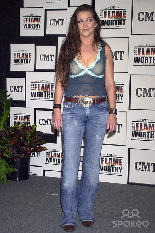 Cmt 2004 Flame Worthy Video Music Awards (Press Room) at the Gaylord Entertainment Center in Nashville, TN 4/21/2004 Photo By:john Krondes/Globe Photos, Inc 2004 Gretchen Wilson