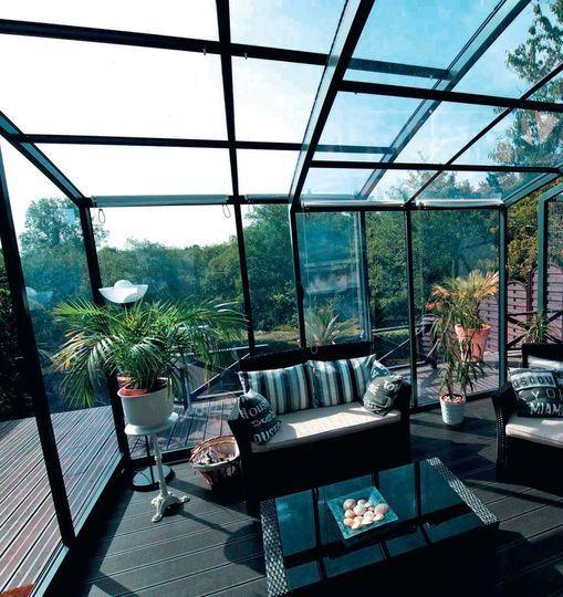 V randa contemporaine 13 photos pour s 39 inspirer veranda v randa contemporaine veranda et - Verriere jardin d hiver ...