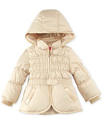 M/&A Little Girls Thickened Puffer Jacket Winter Down Coat