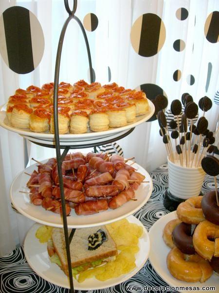 Decoracion de mesas mesa cumplea os tipo buffet actividades pinterest buffet birthdays - Decoracion buffet ...