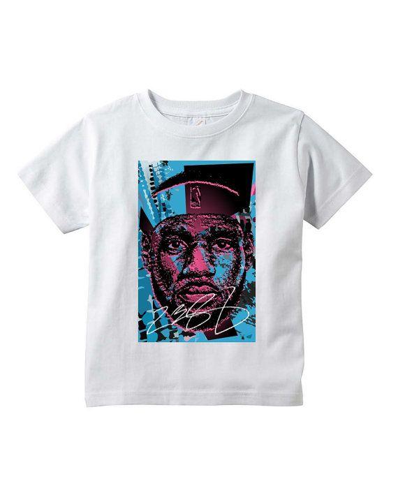 4c7d71dcb Toddler Lebron James 12 White T-Shirt Black Pink by NuelifeYouth ...