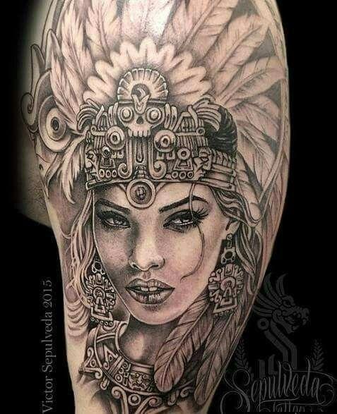 8d0589ae4 Arte Aztec Warrior Tattoo, Warrior Tattoos, Samoan Tattoo, Headdress Tattoo,  Azteca Tattoo