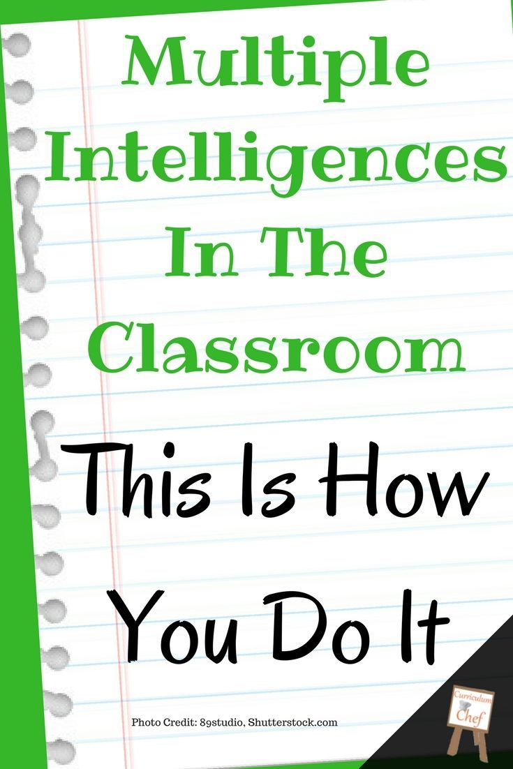 Multiple Intelligences In The Classroom This Is How You Do It