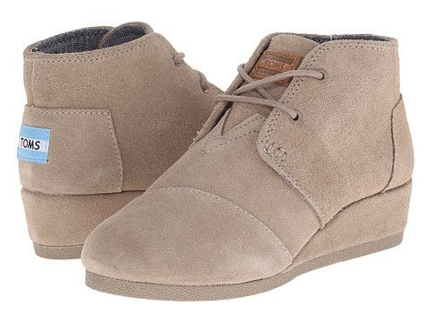 cde55f481bf TOMS Kids Desert Wedge Bootie (Little Kid Big Kid)