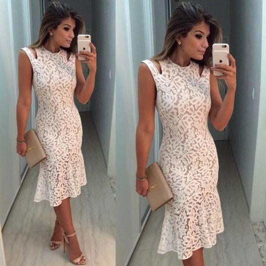 Vestido Branco Comprar em Amo Básico