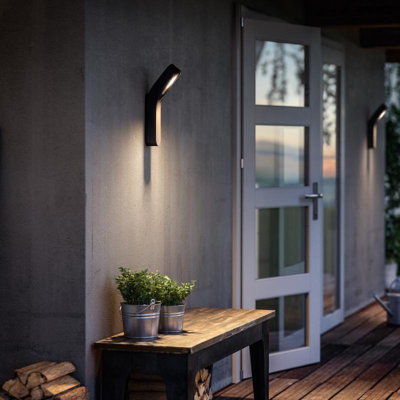 Luminaires exterieur - Applique Dunetop IP44 H36 cm - Anthracite - creer sa maison en ligne