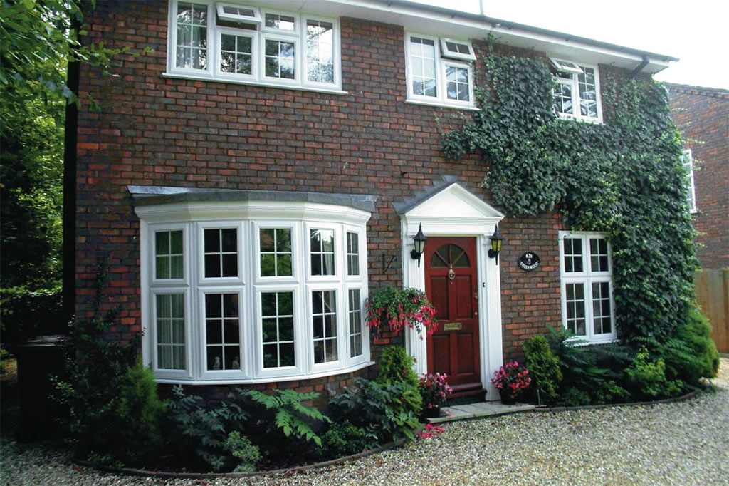 Houses With Bay Windows small house extension with bay windows and french doors uk images