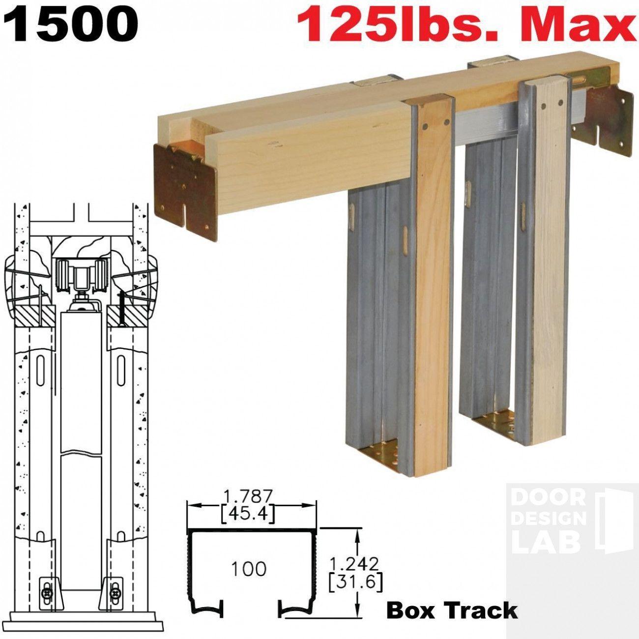 Johnson Hardware 1500 30 X 80 Series Pocket Door Frame For All 8 Doors In 2020 Pocket Doors Sliding Pocket Doors Pocket Door Frame
