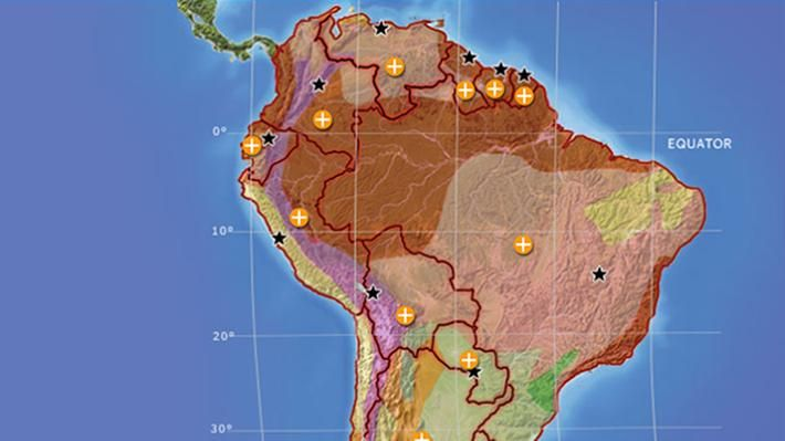 south america interactive map social studies interactive pbs