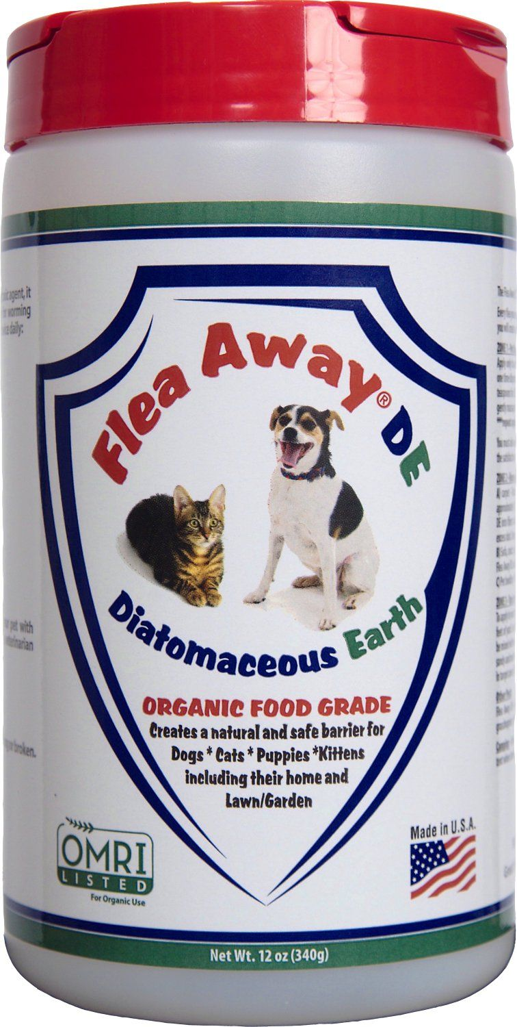 Flea Away Diatomaceous Earth for Dogs & Cats fleas