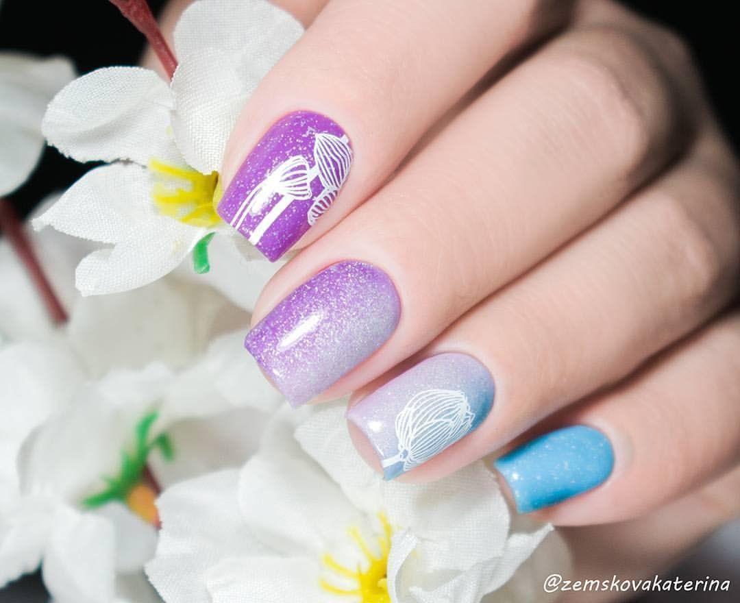 Elegant nice nail design from @zemskovakaterina, looks so beautiful ...