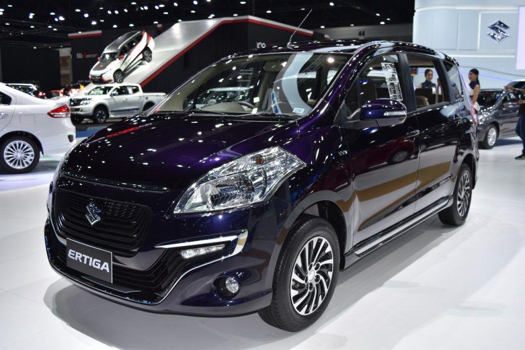 Suzuki Ertiga Dreza showcased at the BIMS 2017 Suzuki