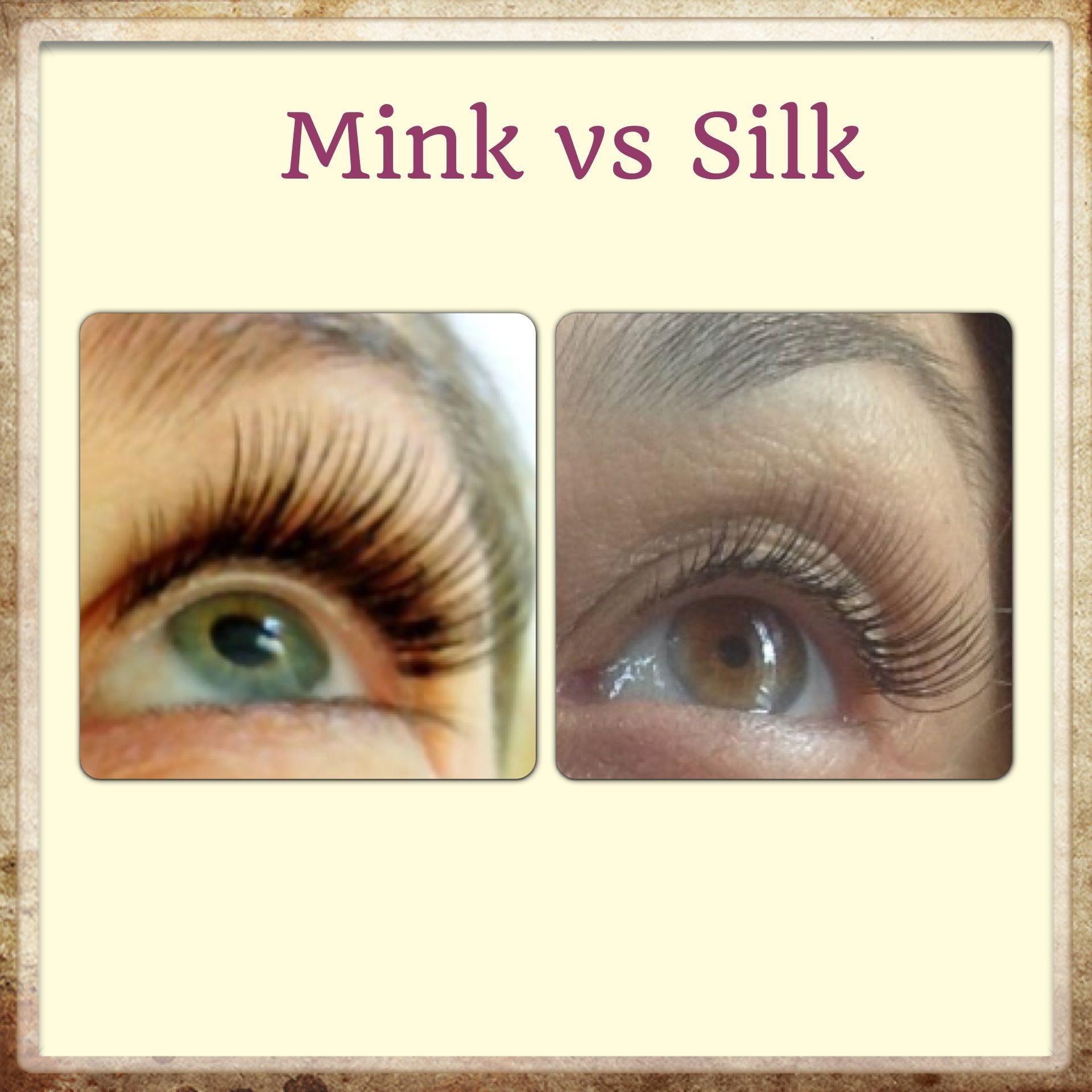 5fa427cab57 Mink vs Silk Silk Eyelash Extensions, Eyelashes, Studio Ideas, Human Eye,  Lashes