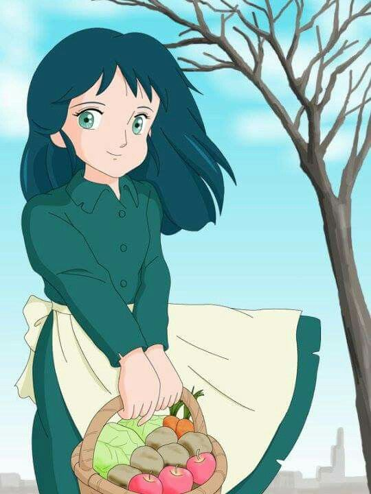 Princess sarah 1985 frances hodgson burnett anime characters animated cartoons old anime - Princesse sarah 3 ...