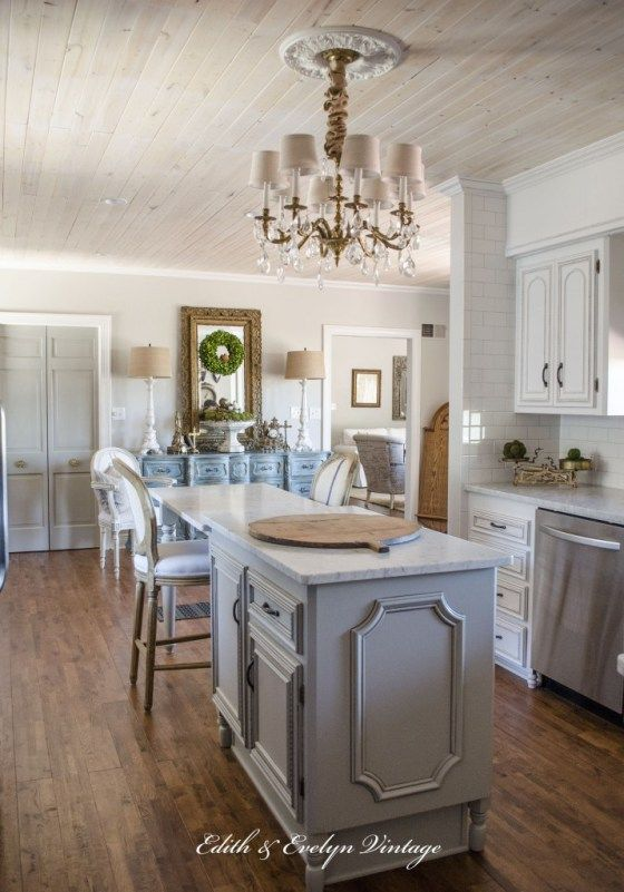Transformation Of A French Country Kitchen Pinterest Agreeable