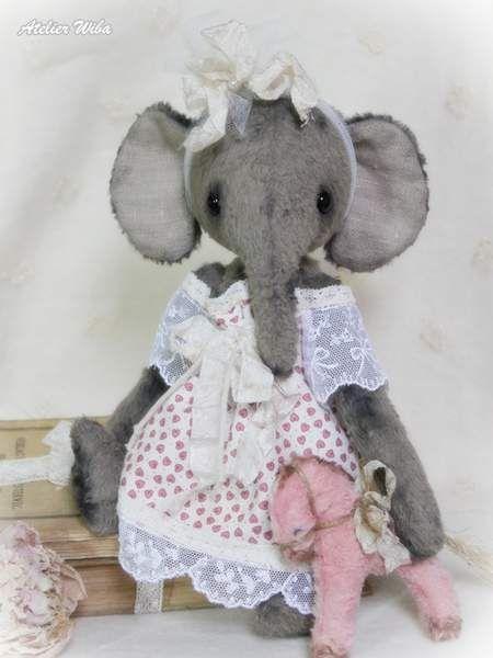 Lova by Atelier Wiba   Mohair Cuties   Pinterest   Elefanten