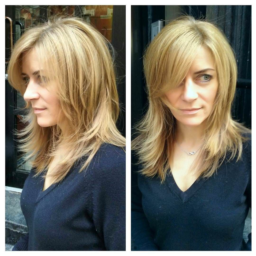 Side And Front View Shag Haircut Design Shag Haircut Modern Shag Haircut Shag Hairstyles