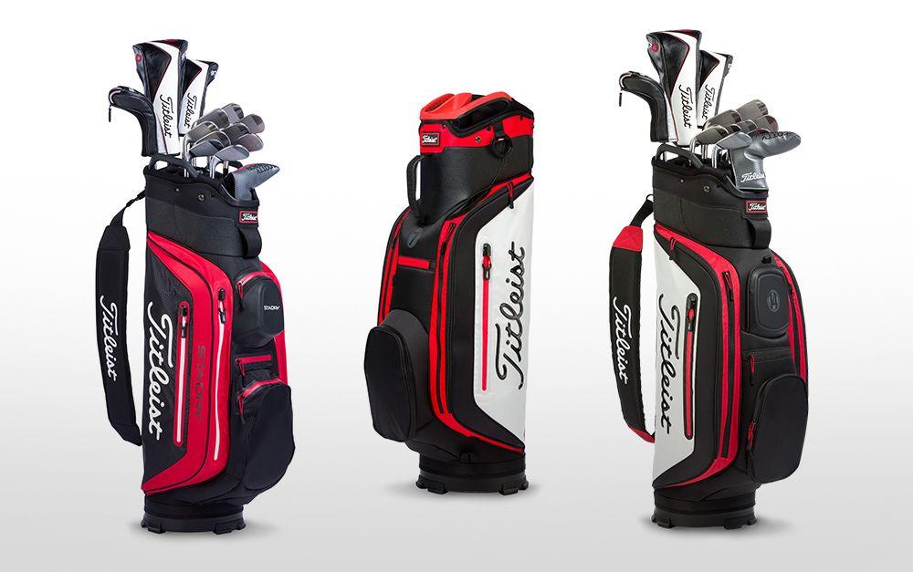 2018 Titleist Cart Bags Golf bags, Bags, Golf