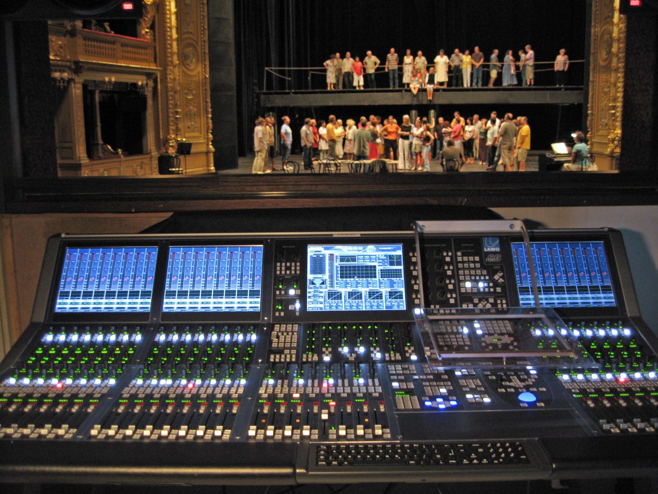 10Year Career work the soundboard on a bigtime show