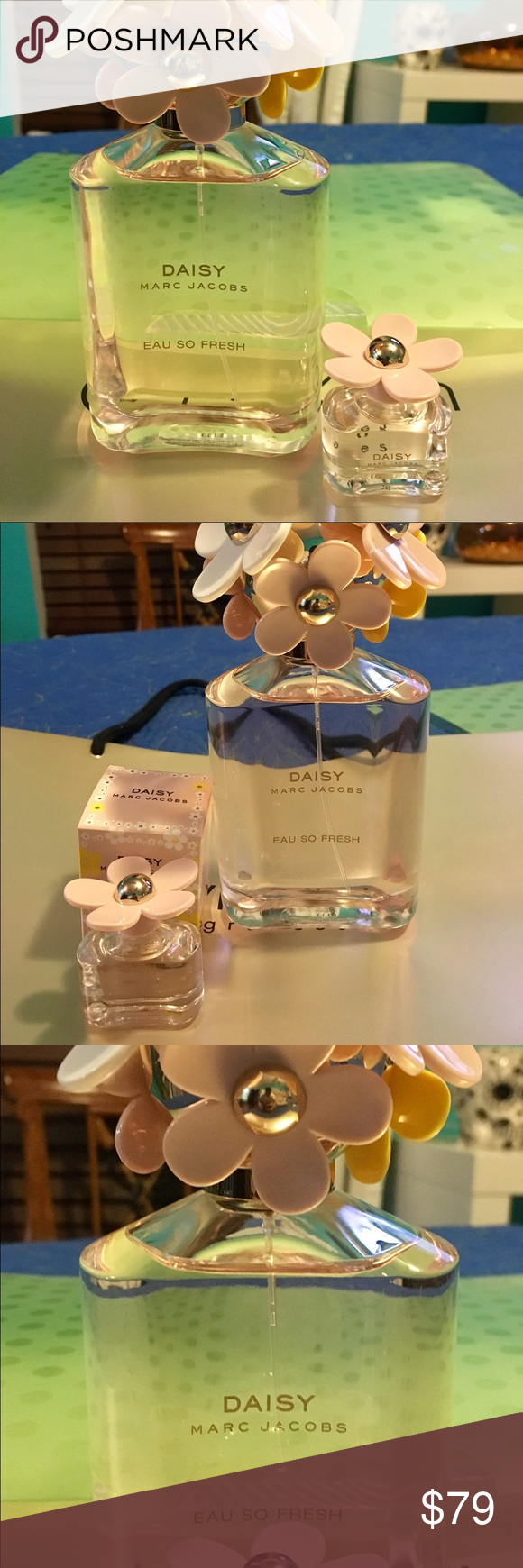 Marc jacobs So fresh perfume 4.25oz/.13oz BNWB!! Marc Jacobs so fresh perfume 4.25oz with mini .13oz brand new with out box (mini perfume with box)never used! marc  jacobs Other