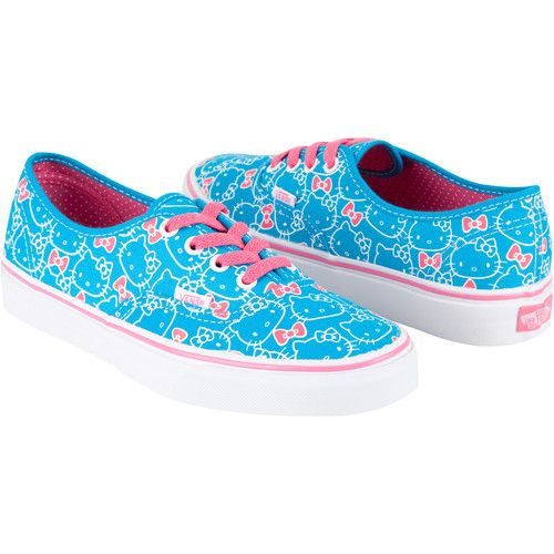 Vans Sanrio Hello Kitty blue shoes with