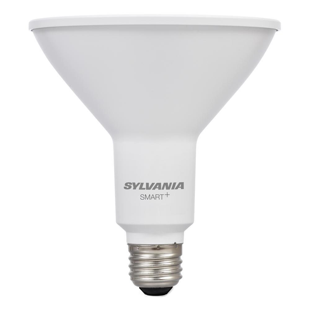 Sylvania Smart Zigbee Soft White Par38 Outdoor Led Smart