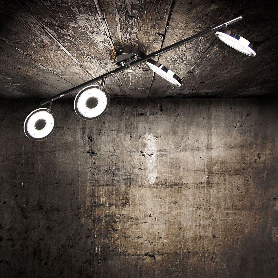 Licht-Trend Deckenleuchte »Sempre Quattro LED 4er Balkenspot in ...