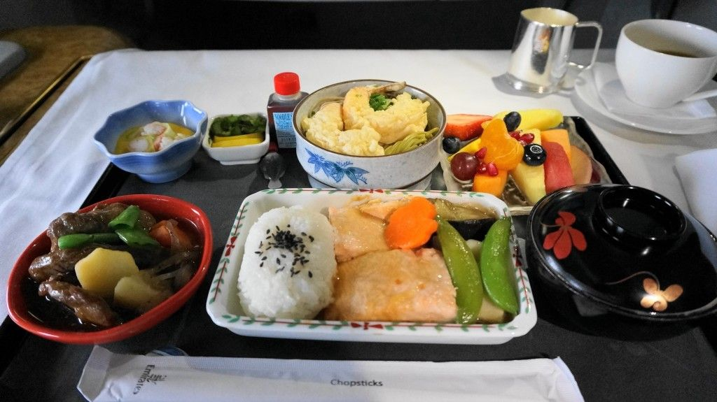Emirates Business Class Food emirates airlines firs...