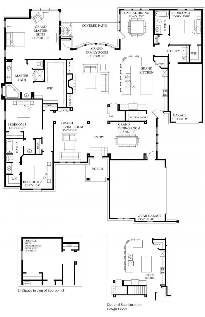 Floorplan Detail Grand Homes New Home Builder In Dallas And Ft Worth Texas Dom Proekty