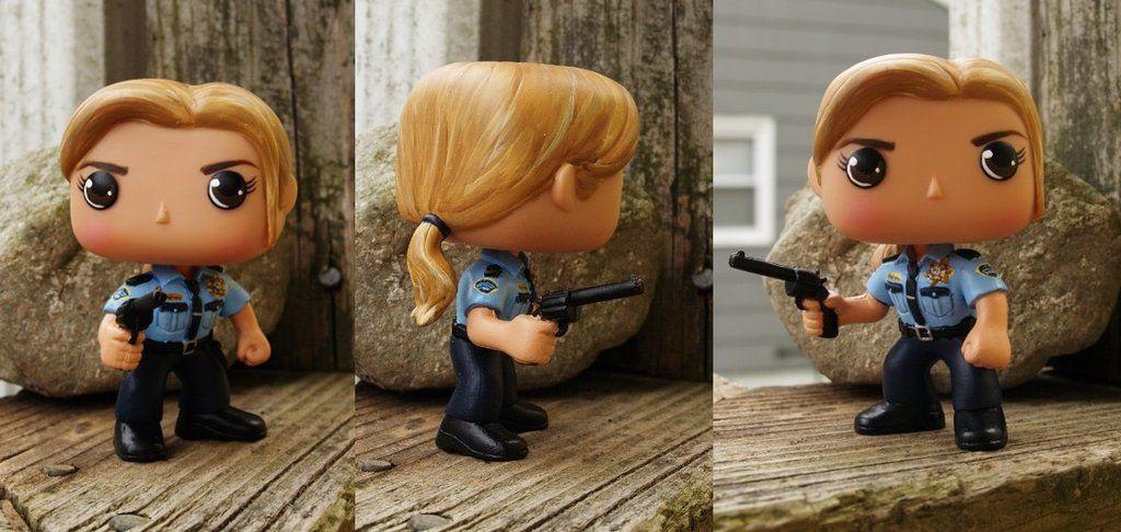Sheriff Donna Hanscum by LMRourke.deviantart.com on @DeviantArt