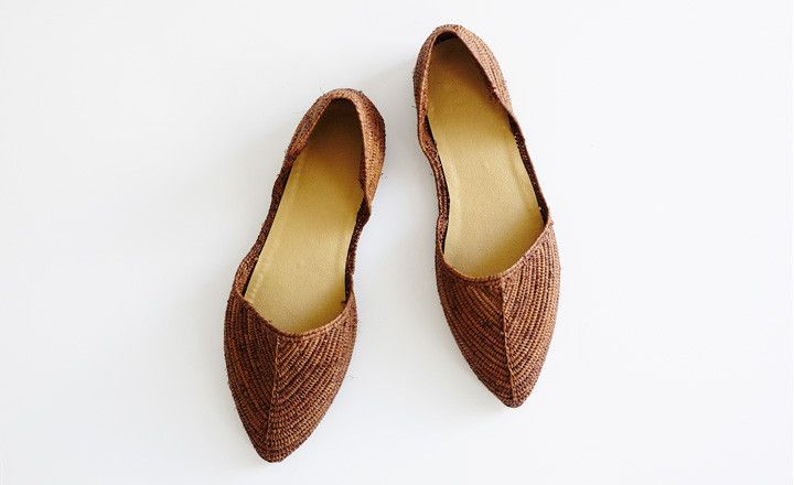 proud mary | d'orsay shoe (handmade in morocco)
