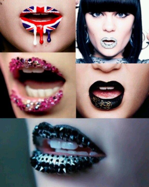 Crazy lipstick art! | Hair,makeup, and nails <3 | Pinterest | Art ...
