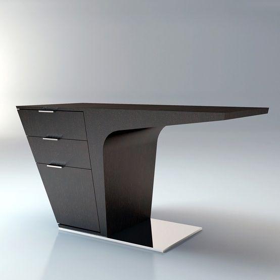 Future Futuristic Furniture Mercer Desk Futuristic Interior