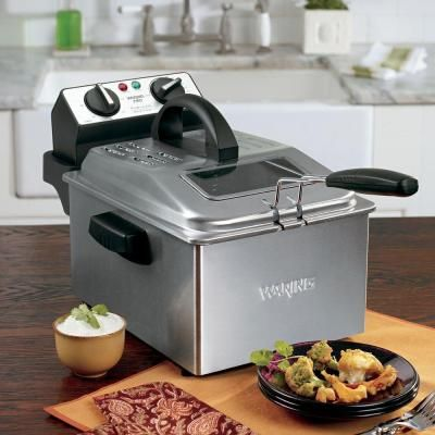 Waring Pro Professional Deep Fryer In Stainless Df250b At The Home