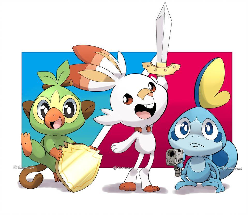 Pokemon Sword Shield And By Kanokawa Pokemon Witzige Bilder