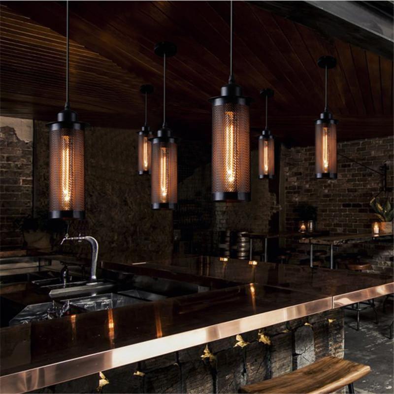 Caius Vintage Industrial Hanging Pendant Lamp Vintage