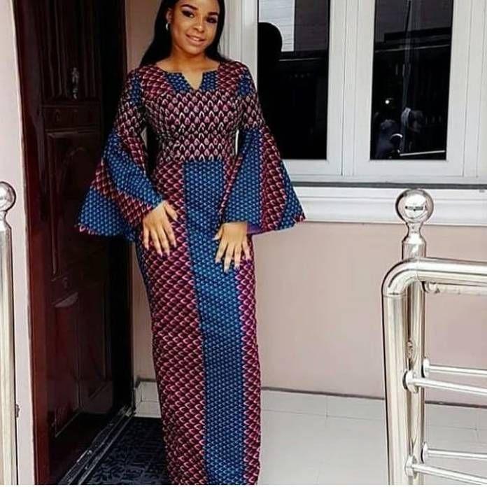 2018 Latest Ankara Styles For Ladies Nigerian Ladi