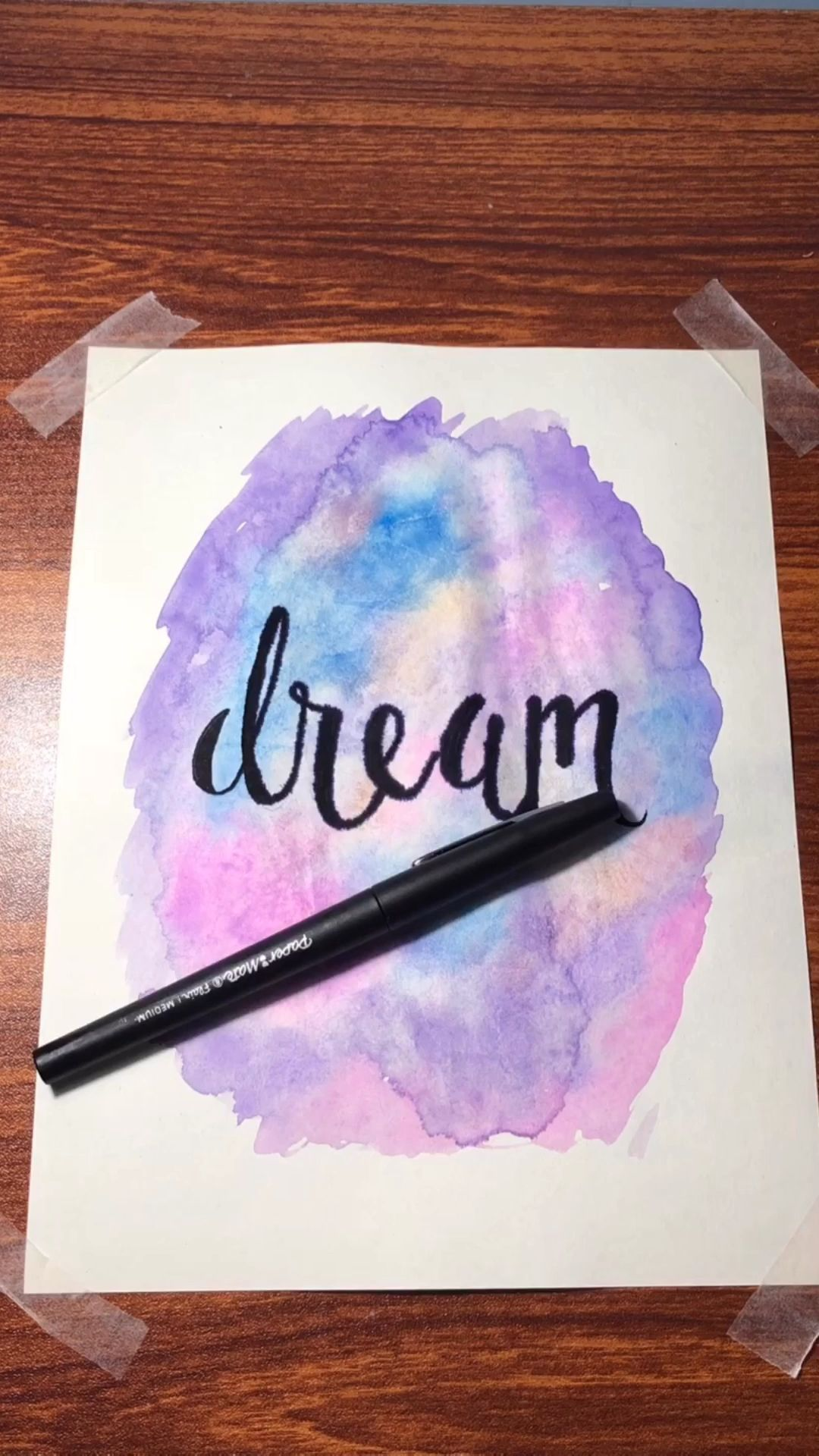 Easy Watercolor Background #art