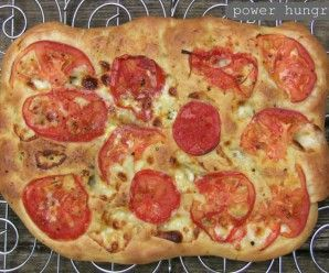 Whole Grain Baking Powder Focaccia {no yeast}   power hungry