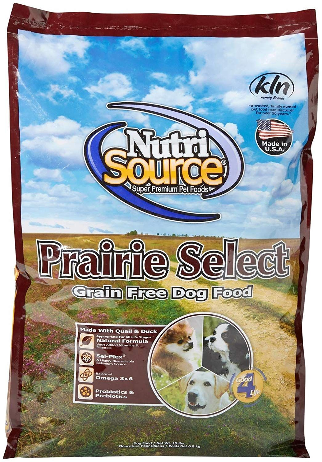 Nutrisource Grain Free Prairie Select With Quail Dog Food 15lb