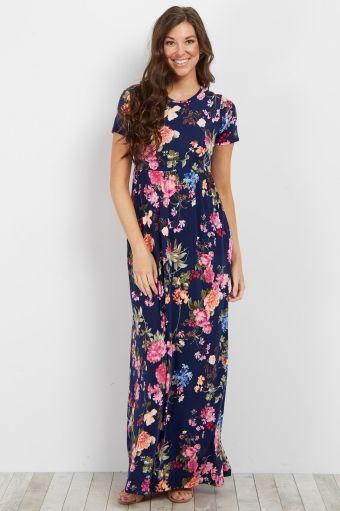 Mint Rose Short Sleeve Maxi Dress