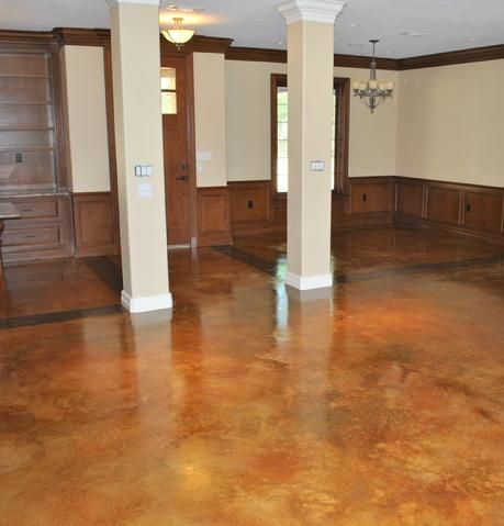 Painted Concrete Floors For Basement There Are Some Awesome Floors On This Site I Would Love To Do This Painted Concrete Floors Basement Remodeling Flooring
