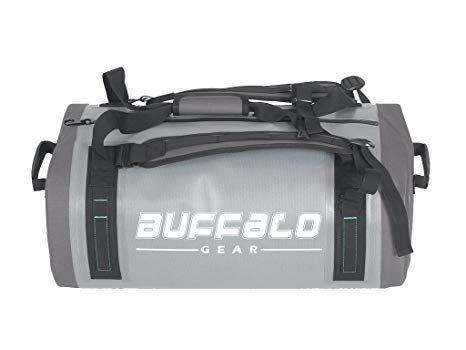 Airtight Waterproof Duffel Bag 50L Large Grey 840D TPU Dry Bag Backpack Dry  Bag for Travel ec3b3a5b10901