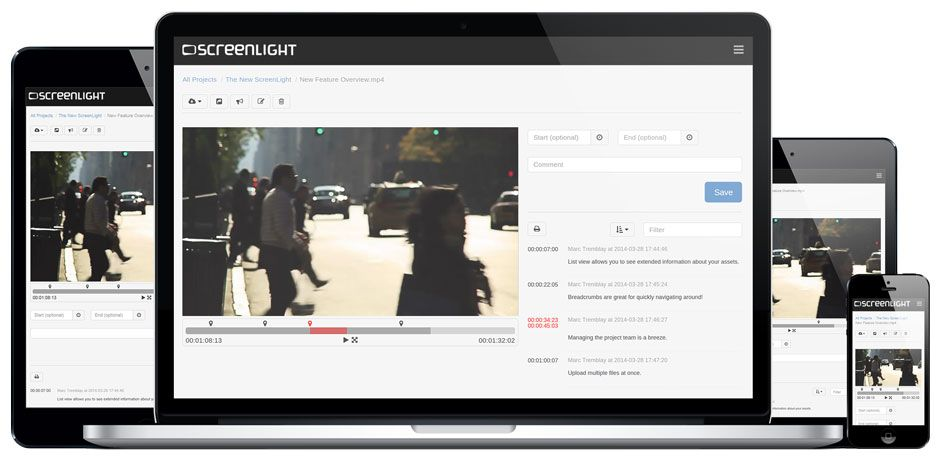 Screenlight Works On Any Device Video Player Video Players